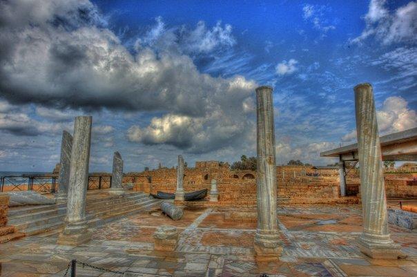 Caesarea Pillars